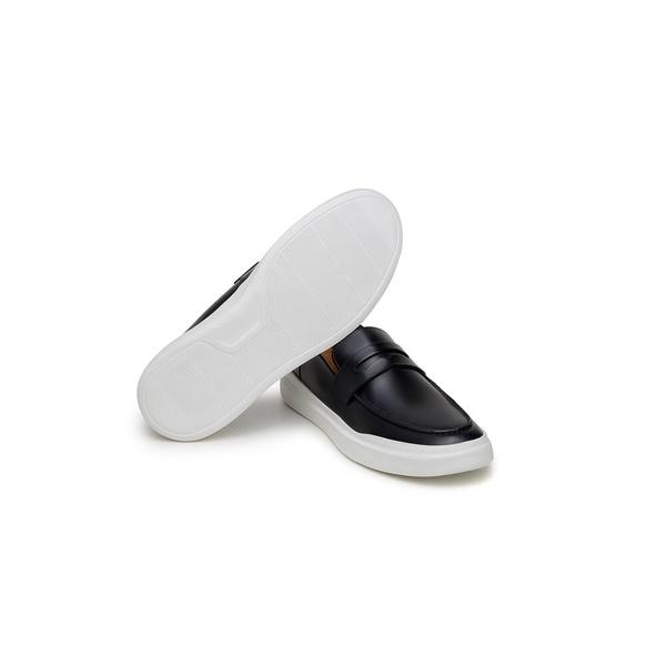 Sapato Casual Masculino Mocassim CNS Gales 06 Preto