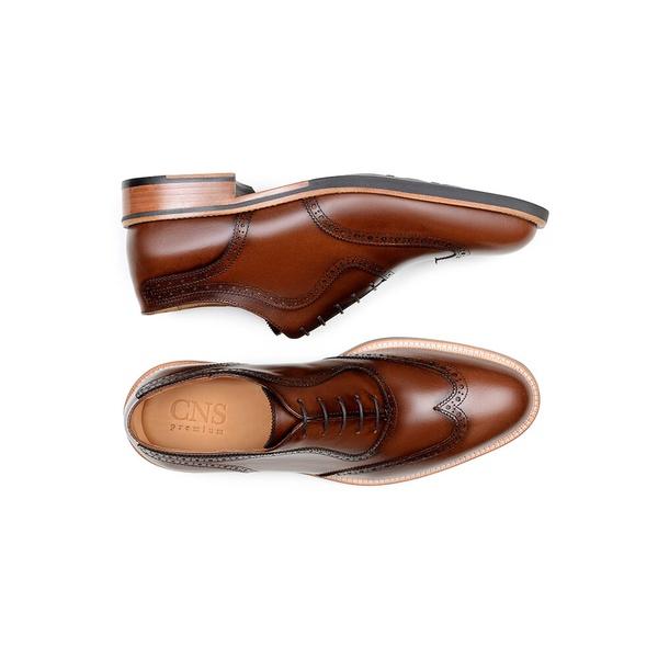 Sapato Casual Masculino Oxford CNS Brogue 14917103 Damasco