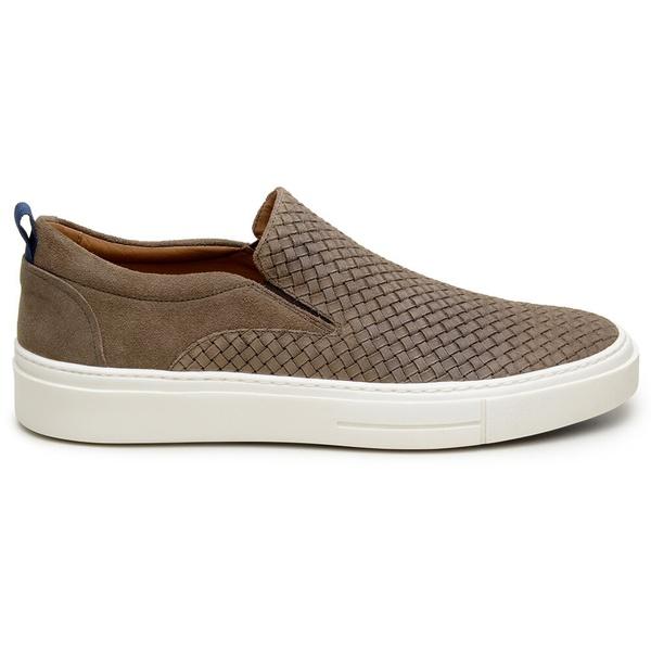 Sapato Casual Masculino Slip-on CNS A680026 Castanho