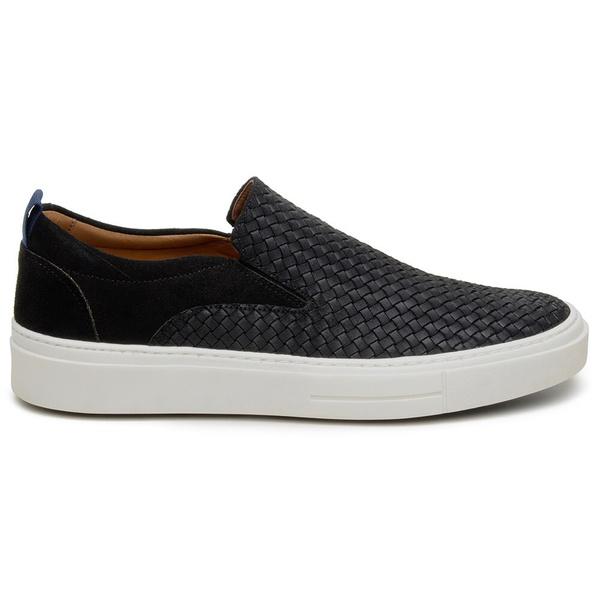 Sapato Casual Masculino Slip-on CNS A680026 Preto