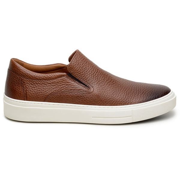 Sapato Casual Masculino Slip-on CNS A680065 Cacau