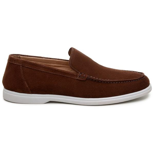 Sapato Casual Masculino Mocassim CNS 510002 Café