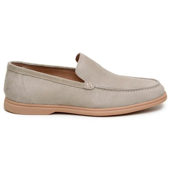 Sapato Casual Masculino Mocassim CNS 510002 Marfim