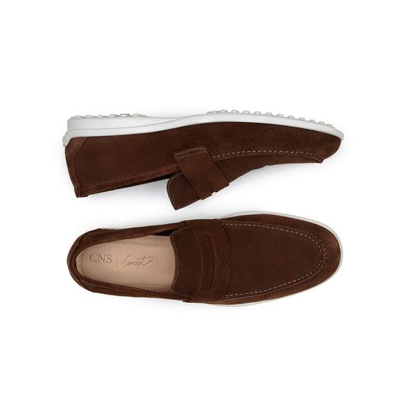 Sapato Casual Masculino Loafer CNS 50911 Café