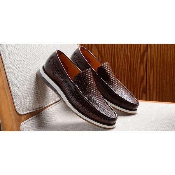 Sapato Casual Masculino Loafer CNS Miller Terracota