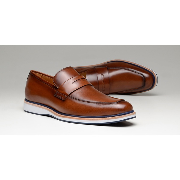 Sapato Casual Masculino Loafer CNS Oggi 10 Damasco