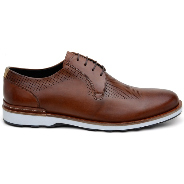 Sapato Casual Masculino Derby CNS 339003 Whisky
