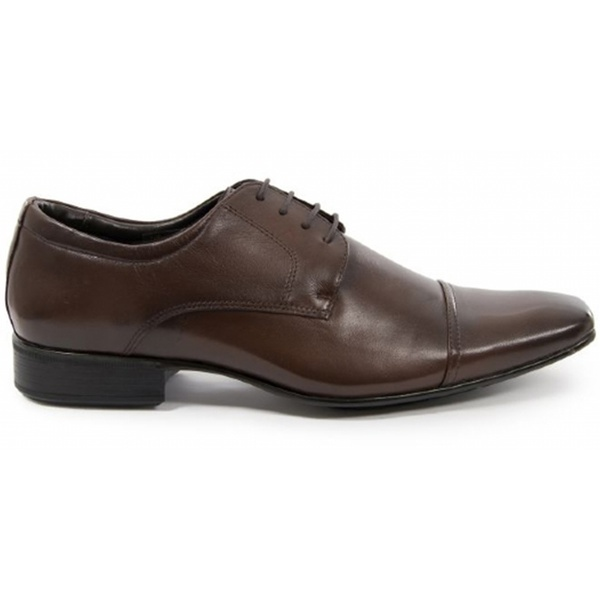 Sapato Social Masculino Derby CNS 40085 Dark Brown