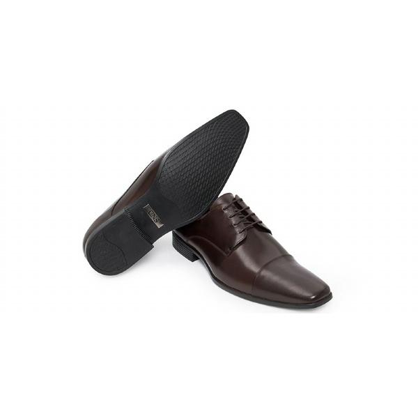 Sapato Social Masculino Derby CNS LZI 003 Mouro
