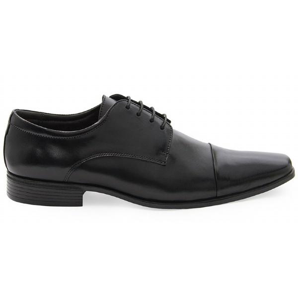 Sapato Social Masculino Derby CNS LZI 003 Preto