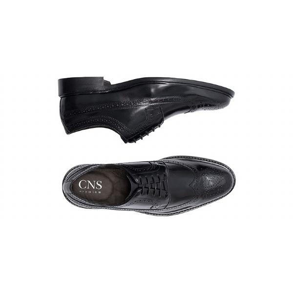 Sapato Social Masculino Derby CNS Brogue MCH 003 Preto