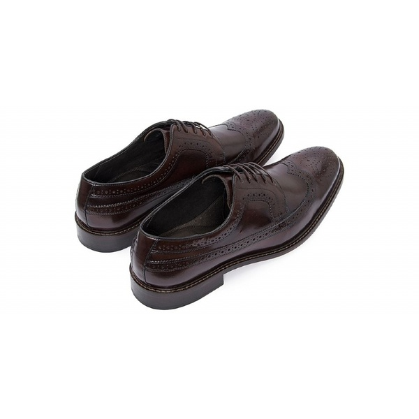 Sapato Social Masculino Derby CNS Brogue MCH 003 Brown