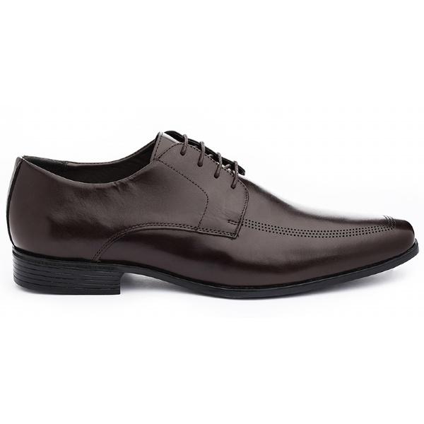 Sapato Social Masculino Derby CNS LZI 020 Mouro