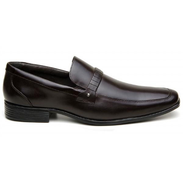 Sapato Social Masculino CNS LZI 027 Dark Brown
