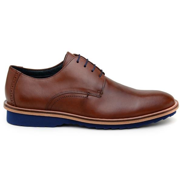 Sapato Casual Masculino Derby CNS 341008 Conhaque