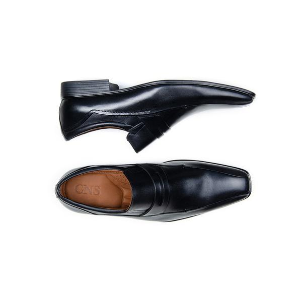 Sapato Social Masculino Mocassim CNS Leo 47 Preto