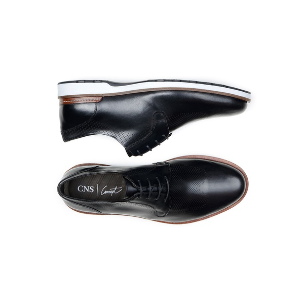 Sapato Casual Masculino Derby CNS 339003 Preto