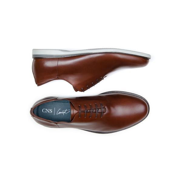 Sapato Casual Masculino Wholecut CNS 163090 Conhaque