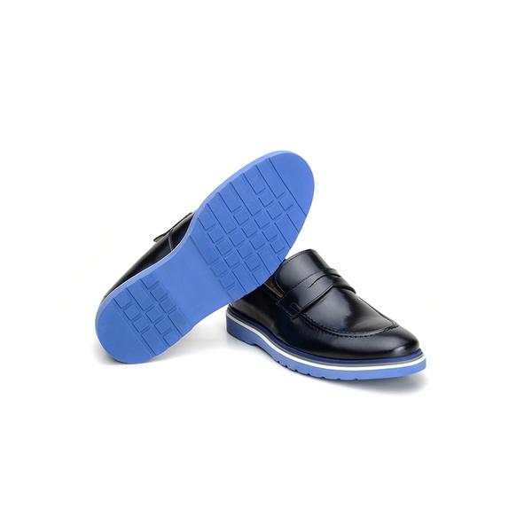 Sapato Casual Masculino Mocassim CNS Wish 02 Preto