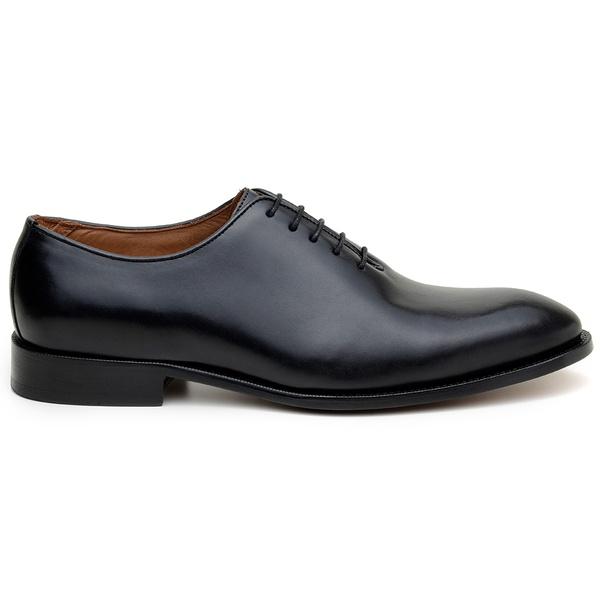 Sapato Social Masculino Wholecut CNS A676004 Preto