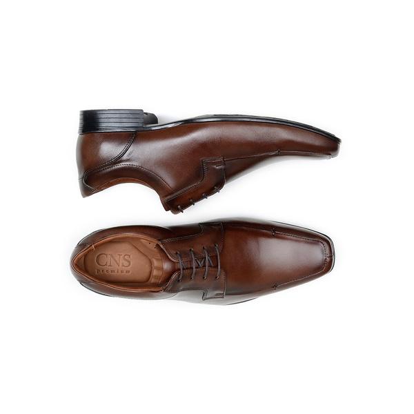 Sapato Social Masculino Derby CNS Air Plus 13 Mouro