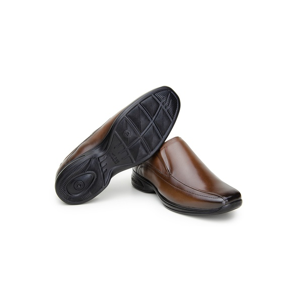 Sapato Social Masculino CNS 71460 Dark Brown