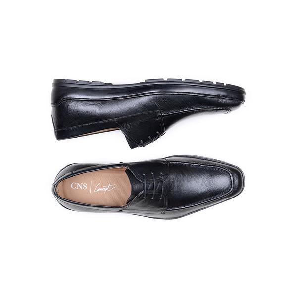 Sapato Casual Masculino Derby CNS 388003 Preto