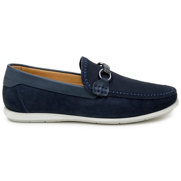 Sapato Casual Masculino Mocassim CNS 19215 Marinho
