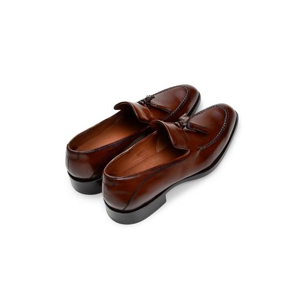 Sapato Social Masculino Mocassim CNS Donald 31 Whisky