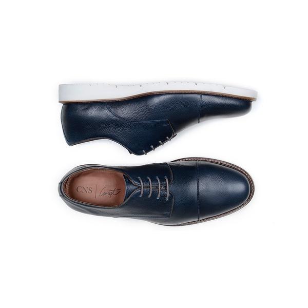 Sapato Casual Masculino Derby CNS SUN 011 Marinho