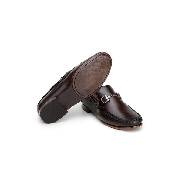 Sapato Casual Masculino Mocassim CNS MDZ 002 Café