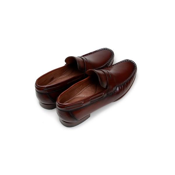 Sapato Casual Masculino Mocassim CNS MDZ 001 Tan