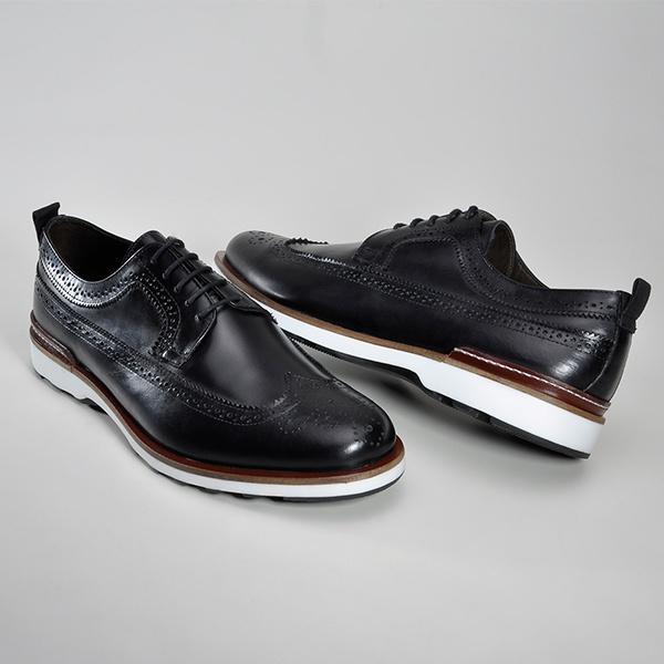 Sapato Casual Masculino Derby CNS 339019 Preto
