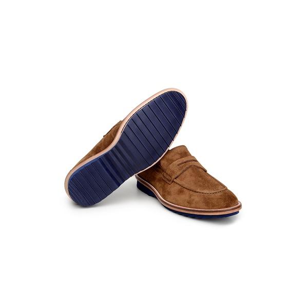Sapato Casual Masculino Mocassim CNS 341015 Tabaco