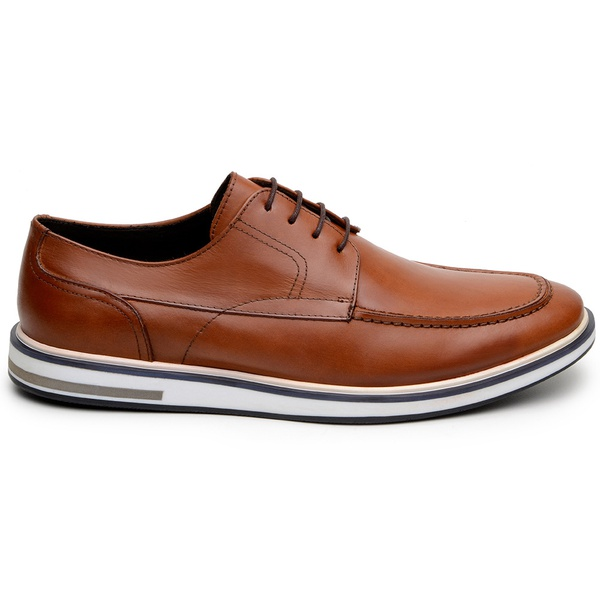 Sapato Casual Masculino Derby CNS 176091 Whisky