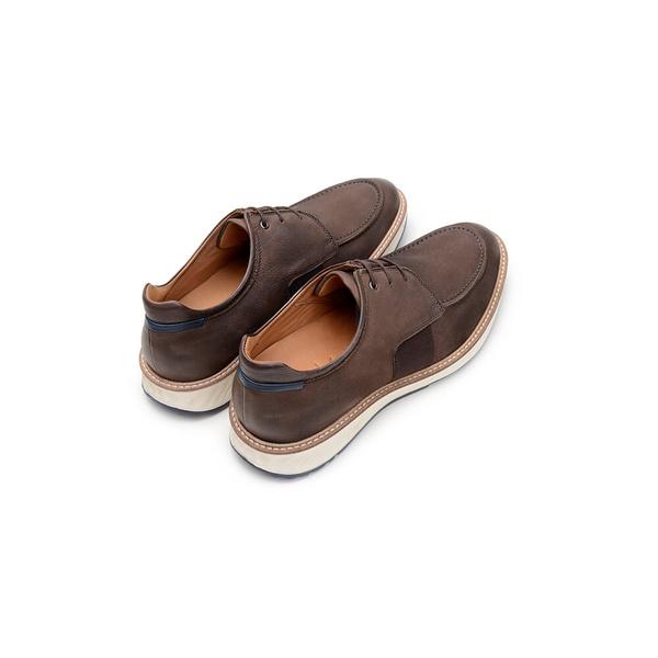 Sapato Casual Masculino Derby CNS 384036 Carvalho