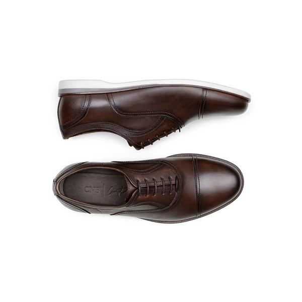 Sapato Casual Masculino Oxford CNS 163095 Moca