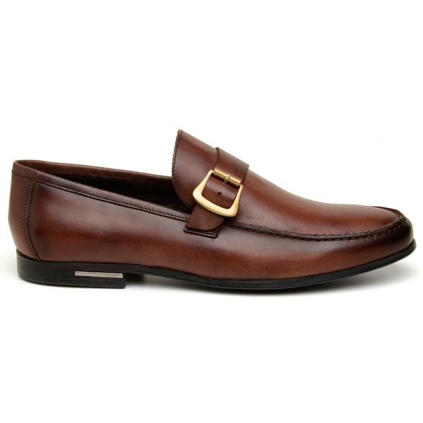 Sapato Casual Masculino Mocassim CNS 1311 Havana