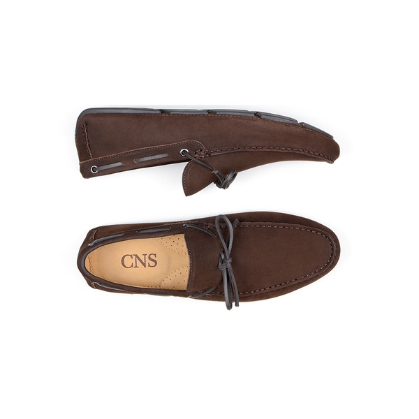 Sapato Casual Masculino Driver CNS 18192 Café