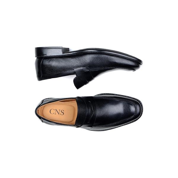 Sapato Casual Masculino Mocassim CNS 14022 Preto