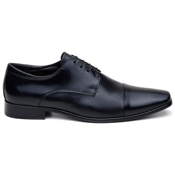 Sapato Social Masculino Derby CNS LZI 031 Preto