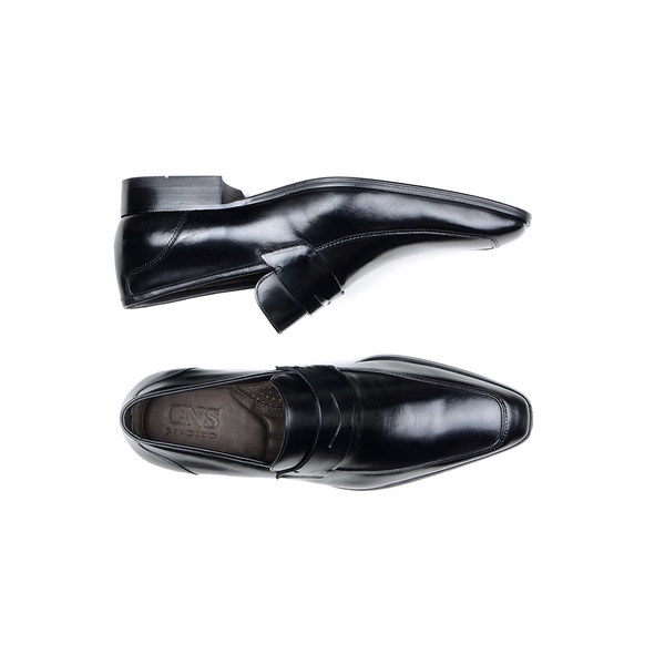 Sapato Social Masculino Mocassim CNS Robu 13 Preto