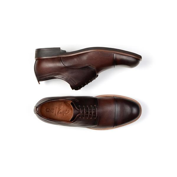 Sapato Casual Masculino Derby CNS Danville 08 Tabaco