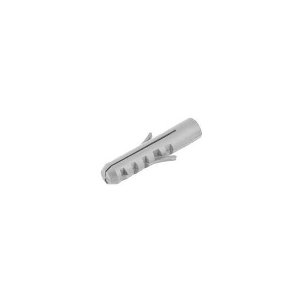 Bucha Nylon 06mm Para Concreto e Alvenaria Pacote Com 1000 Pcs