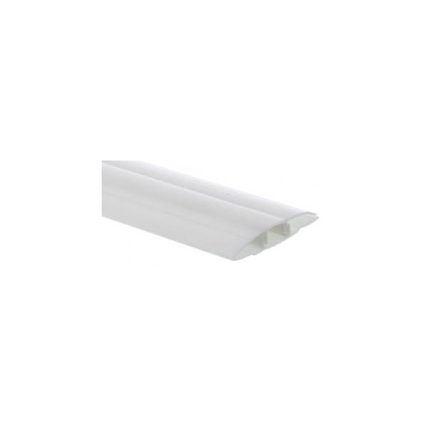 Perfil-H-em-policarbonato-branco