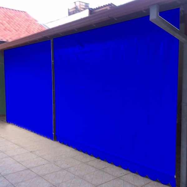 Toldo Cortina 4,00m x 2,75m - Azul