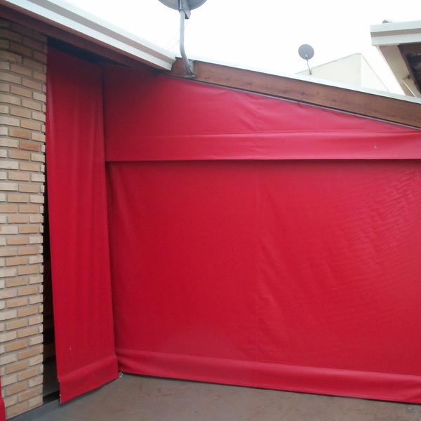 Toldo Cortina 2,00m x 2,75m - Vermelho