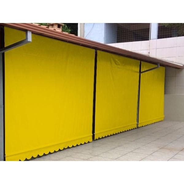 Toldo Cortina 2,00m x 2,75m - Amarelo