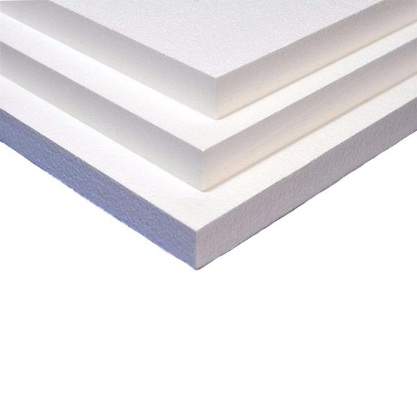 Chapa Poliestireno Extrudado Xps 1,20x0,60x25mm Branco