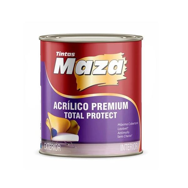 Acrílico Premium Branco 900ml - Maza